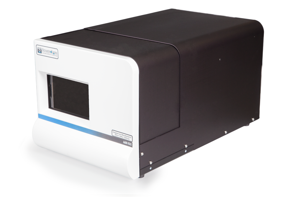 Right Angled View of Stratedigm A600 High Throughput Auto Sampler (HTAS)