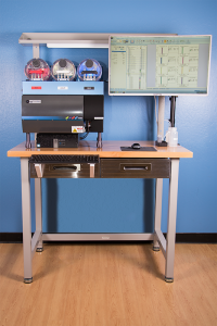 Front View of Stratedigm StrateBench Table with S1000Exi