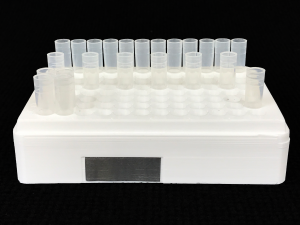 Flow Cytometer Cluster Tube Holder Side View