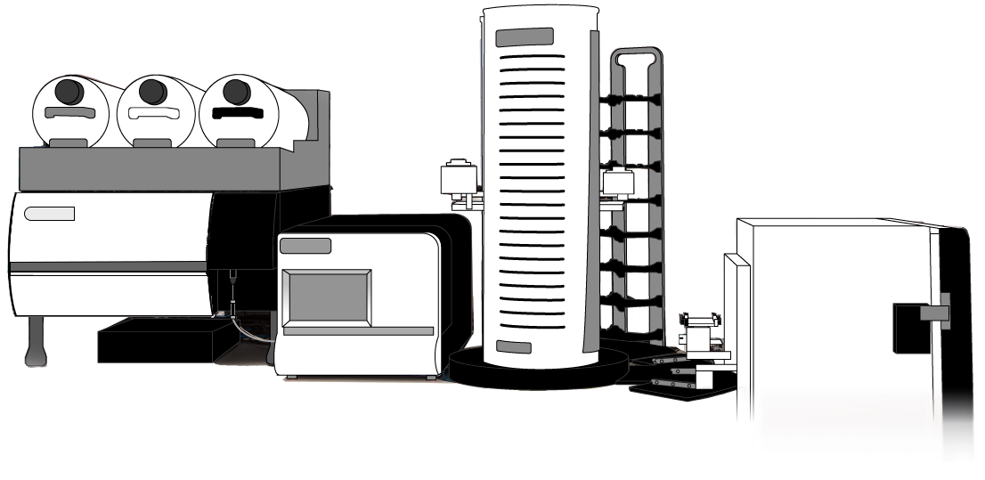 Stratedigm Flow Cytometer Automation Suite Cartoon