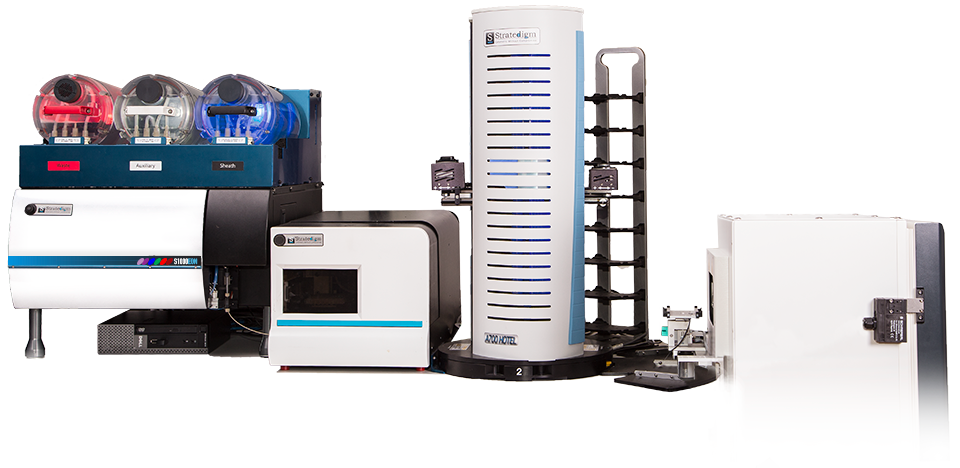 Stratedigm S1000EON Flow Cytometer with Full Automation Suite