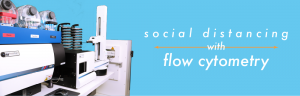 Social Distancing with Flow Cytometry Automation