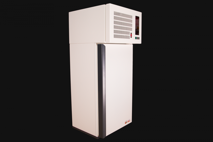Left Angled View of Stratedigm A800 Cell Incubator (CI) Benchtop Model for Flow Cytometry
